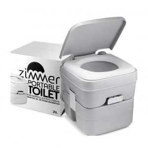 Zimmer Portable Toilet Camping Porta Potty