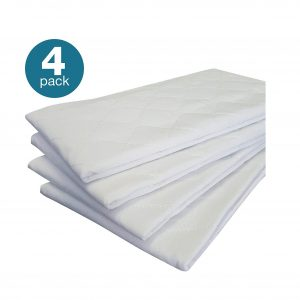Priva 4 Pack High-Quality Ultra-Waterproof Bed Pads