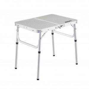 REDCAMP Small Folding Adjustable Camp Table