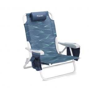 Lightspeed Outdoors Lightweight Reclining Beach Chair