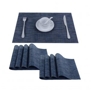 Top Finel Set of 8 Plastic Placemats