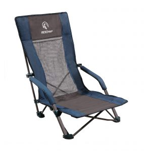 REDCAMP Low Folding Beach Chair