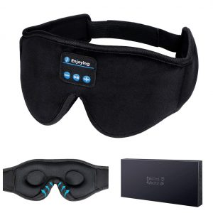 LC-dolida 3D Sleep Mask Sleeping Headphones with Ultra-Thin Stereo Speakers