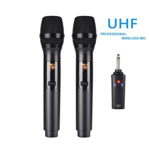 Kithouse UHF Rechargeable Wireless Microphone