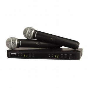 Shure Dual Channel Wireless Microphone System