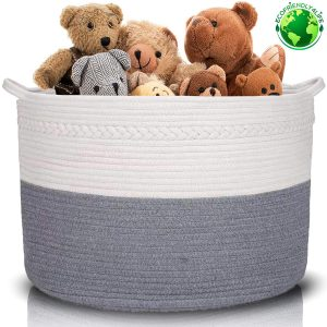 ECOFRIENDLY4LIFE Blanket Basket