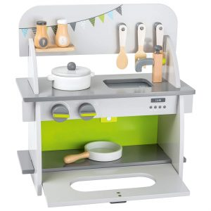 Small Foot Wooden Toys Compact Kitchen Playset