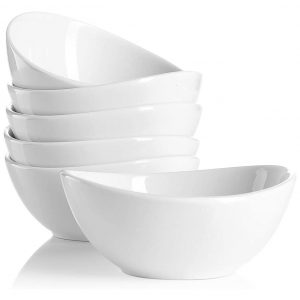 Sweese Porcelain 10 Ounce Bowls Set of 6