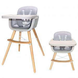 Asunflower Wooden High Chair 3-In-1 Chair