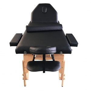 Heaven Massage Table with a Carry Case (BLACK)