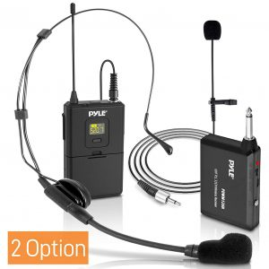Pyle UHF 32-Channels Lavalier Microphone