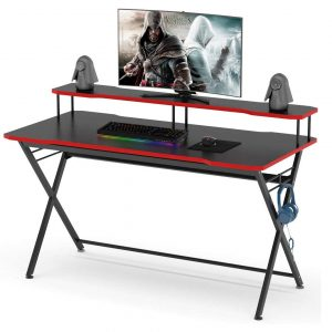 Tribesigns 55 inches Large Gaming Desk