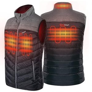 PROSmart Men and Women Polar Fleece Heated Vest