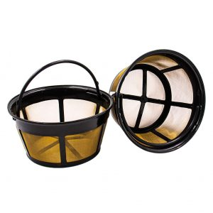 AUEAR 2 Pieces Creative Durable Basket Coffee Filter