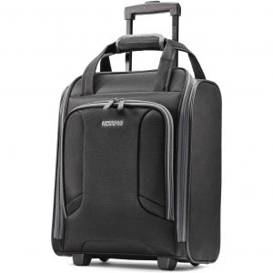 American Tourister Expandable Luggage Bag with Spinner Wheels