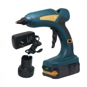 4. Boswell 60W 18V Rechargeable Cordless Hot Glue Gun for DIY Projects