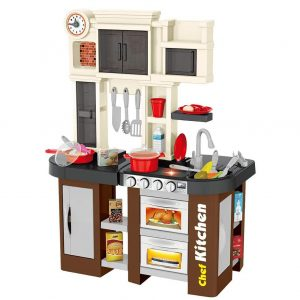 Leikf Chefs Kitchen Playset 58 Pieces with Windows