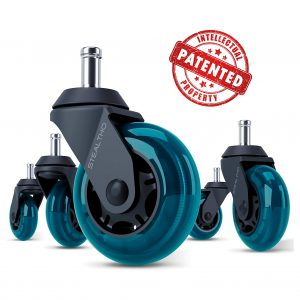 STEALTHO Replacement Office Caster Wheels, Set of 5