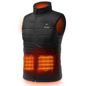 ORORO Men's Heated Vest w/ Battery Pack