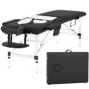 PayLessHere Massage Table with Face Cradle and a Carry Case