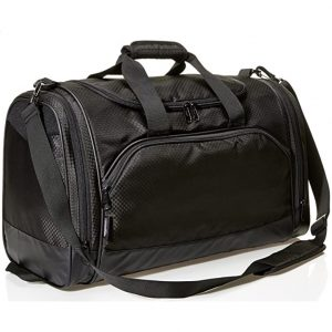AmazonBasics Lightweight Duffel Gym Bag