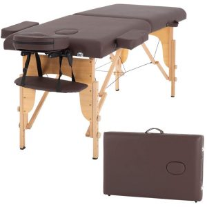 BestMassage Portable Massage Table with Adjustable Height