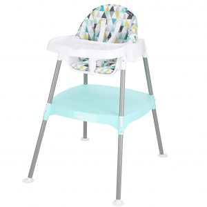 Evenflo 4-In-1 Eat and Grow Convertible High Chair