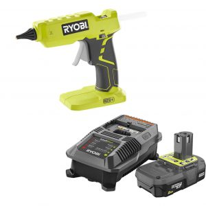 6. Ryobi P305 Glue Gun with Lithium-ion battery and Charger