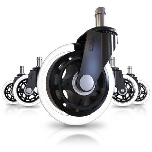 The Office Oasis Caster Wheels with a Universal Fit