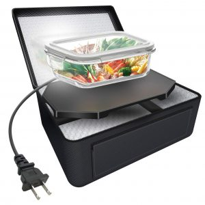 Triangle Power Electric Slow Cooker Personal Portable Oven Food Warmer (110V)