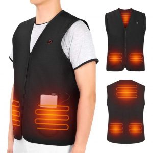 Yosoo Health Gear Men Women USB Heated Vest