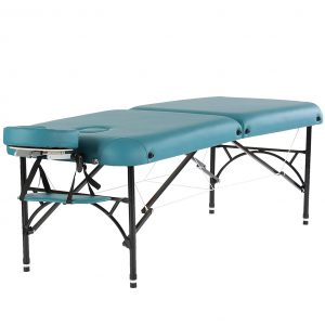 """Artechworks 28"""" Portable and Lightweight Massage Table, Teal Green"""