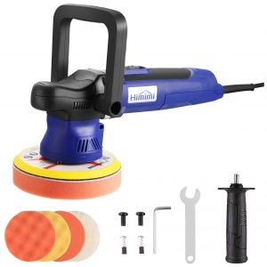 Himimi Polisher Buffer, 6 Inch Car Sander with Detachable Handle and 6 Variable Speed