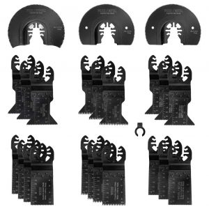 WORKPRO 23-Piece Oscillating Saw Blades for Metal and Wood