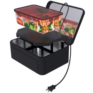Aotto Portable Oven Personal Raw Food Cooking and Prepared Meals Food Warmer