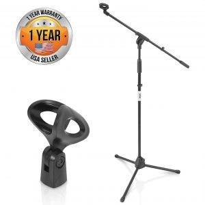 Pyle Foldable Tripod Microphone Stand