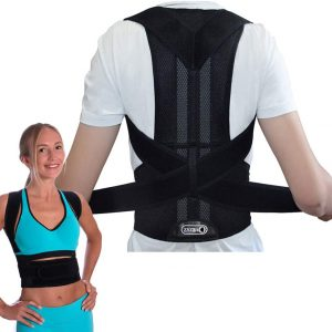 ZSZBACE Breathable Back Support, Black