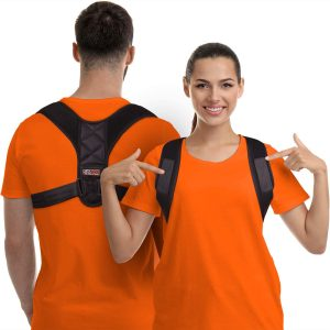 Gearari Upper Back Brace Posture Corrector For Clavicle Support