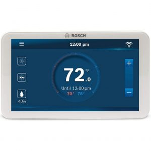 Bosch BCC100 Wi-Fi Thermostat with a Touch Screen