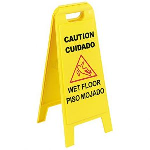 Carlisle Wet Floor Sign