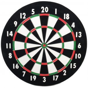 Classis Old English Style 18-inch Double-Sided Dart board