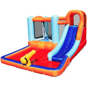Hoovy Giant Inflatable Bouncing Castle with Water with Pool and Trampoline for Children
