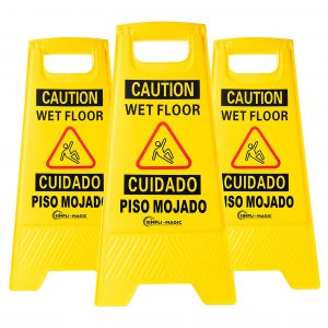 Simpli-Magic Wet Floor Signs