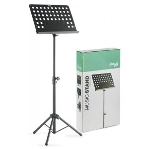 Stagg Heavy-Duty Music Stand Vented