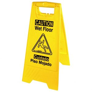 Genuine Joe Wet Floor Sign