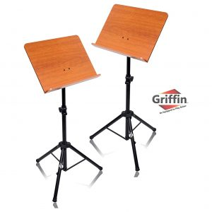 Griffin Wood Stand Sheet Folder Metal Tripod Stand 2 Pack