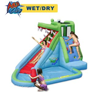ACTION AIR Splash and Slide Inflatable Waterslide for Kids (9240)