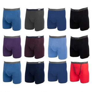 Fruit of the Loom 12 Pack Random Boxer Briefs