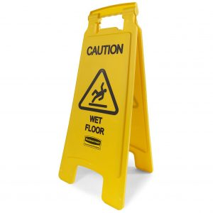 Rubbermaid Commercial Products Wet Floor Sign
