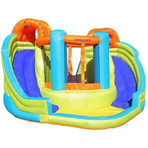 Sportspower Double Slide Inflatable Water Slide